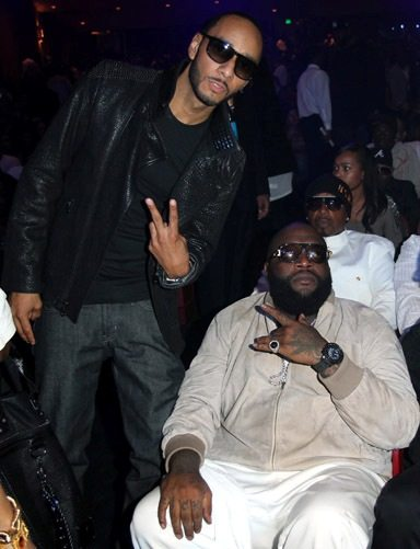 Next up for Swizz Beatz's Monster Mondays?  Rick Ross.  Check out The Transporter.