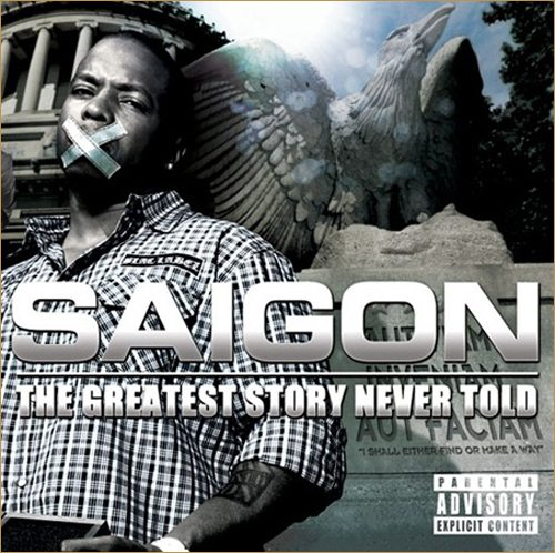 Saigon's album is sounding like it's going to be a classic.  Here's another hot joint called Clap from the forthcoming Greatest Story Never Told.  It features Faith Evans singing the best gospel heard on a track since Jesus Walks.