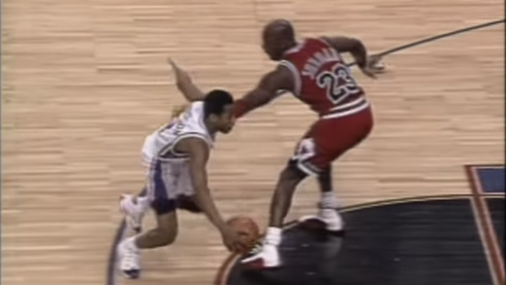 quality design a75f2 638e2 Michael Jordan Had Foul Words For Allen Iverson Upon Meeting