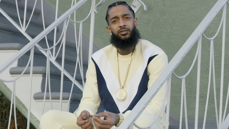 Nipsey Hussle & Stacy Barthe - Victory Lap Music Video