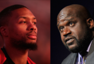 Damian Lillard Gets Flagrant With Shaq On A Foul Diss Track